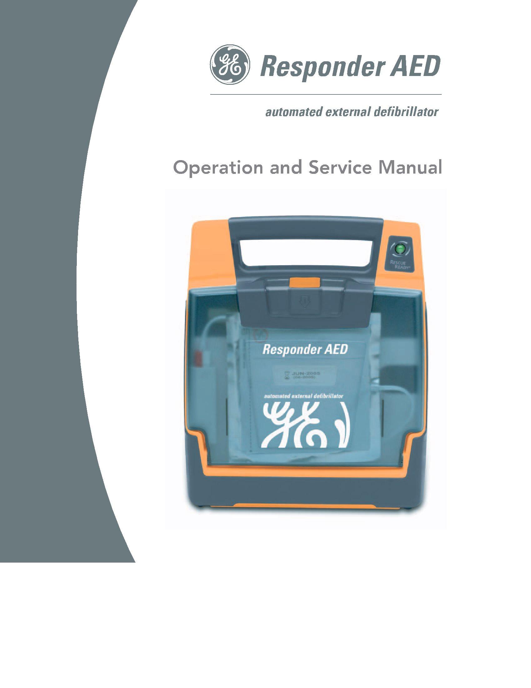 GE Responder AED Service manual