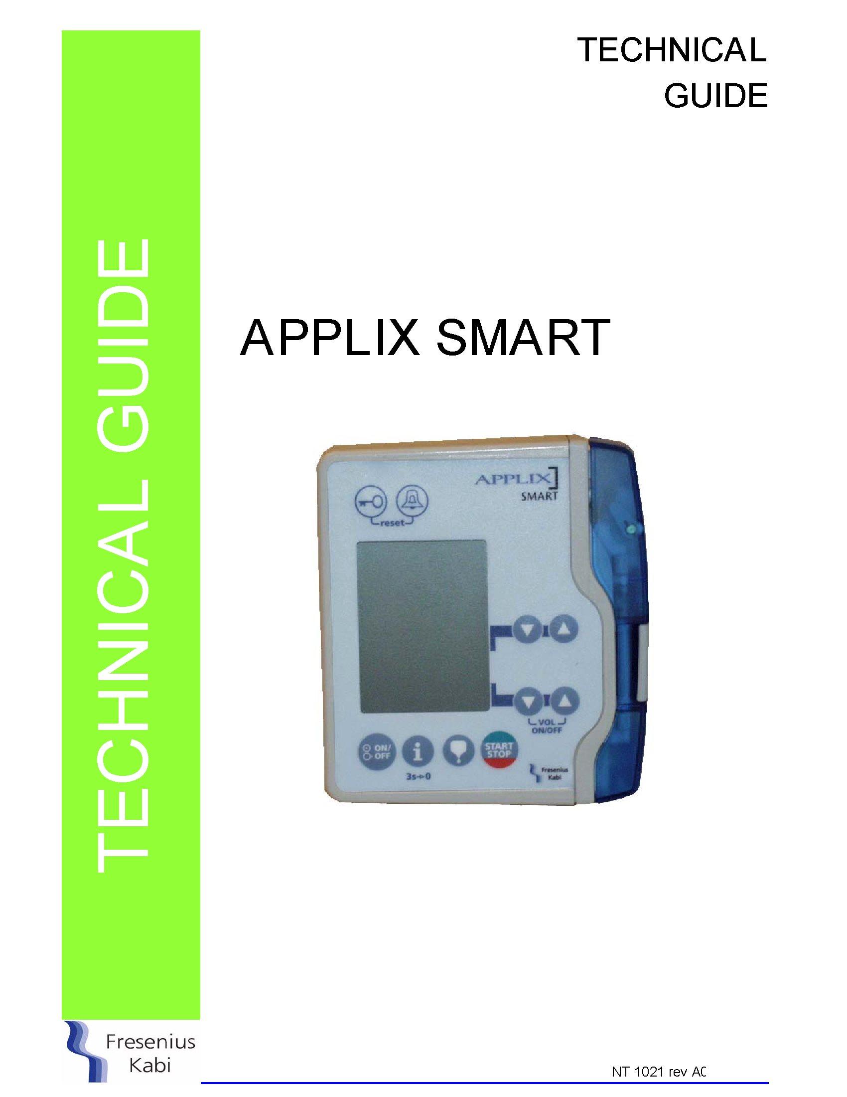 fresenius applix smart service manual  u2013 golden biomed